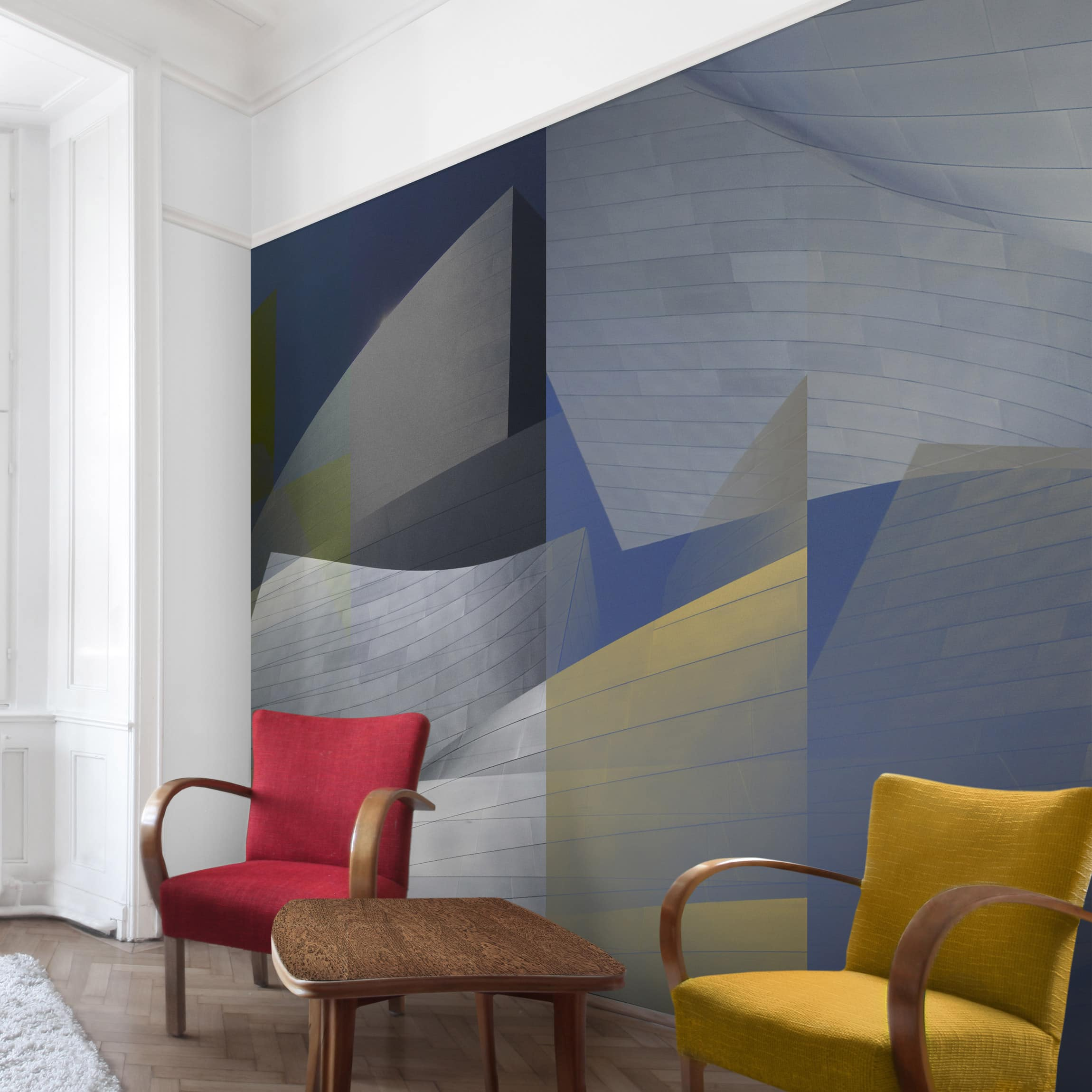 tapete selbstklebend geary 3 wandbild quadratisch. Black Bedroom Furniture Sets. Home Design Ideas
