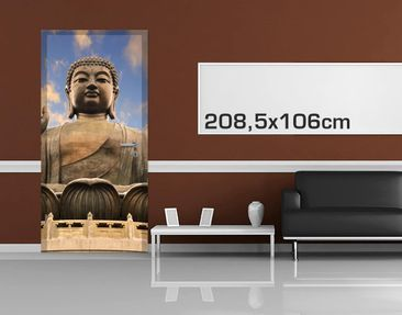 Product picture Door Photo Wall Mural - Big Buddha
