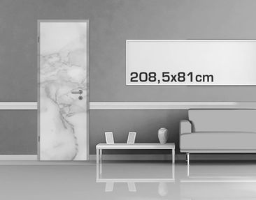 Product picture Door Photo Wall Mural - Marble Look...