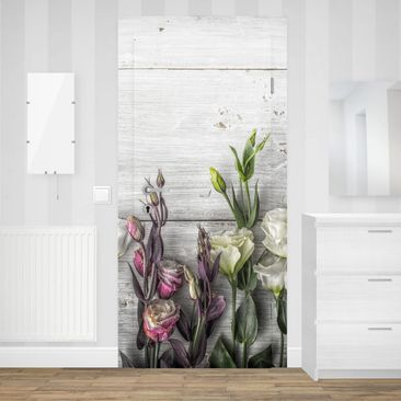 Product picture Door Photo Wall Mural - Tulip Rose...