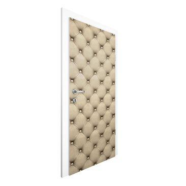 Immagine del prodotto Carta da parati per porte - Beige Upholstery - 215cm x 96cm