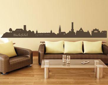 Produktfoto Stadt Bielefeld - Wandtattoo Skyline -...