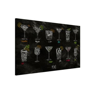 Product picture Magnetic Board - Cocktail Menu -...