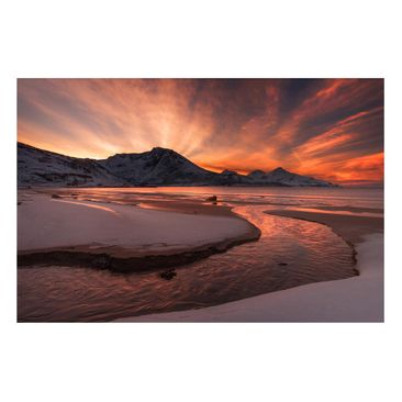 Product picture Magnetic Board - Golden Sunset -...