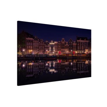 Product picture Magnetic Board - Houseboats In Amsterdam...