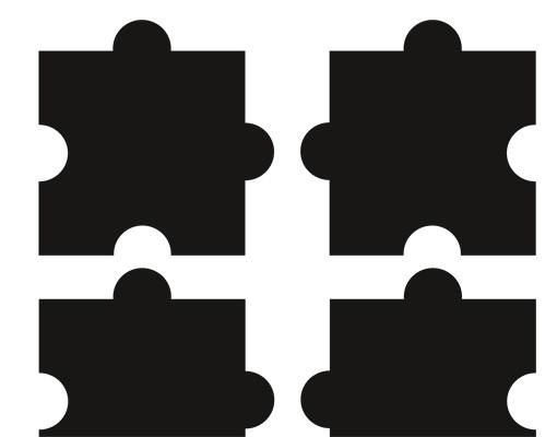 Produktfoto Fliesenaufkleber No.CG153 Zehn Puzzle Set