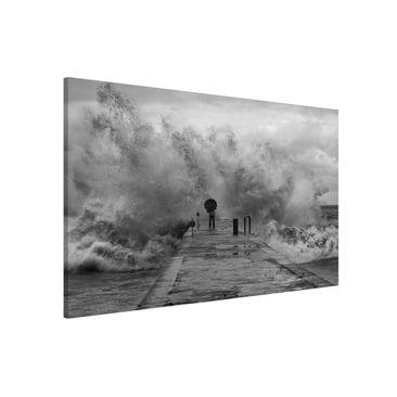 Produktfoto Magnettafel - Tosendes Meer - Memoboard Querformat 2:3