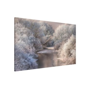 Product picture Magnetic Board - Winter Song - Landscape...