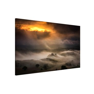 Product picture Magnetic Board - Fog Waves - Landscape...