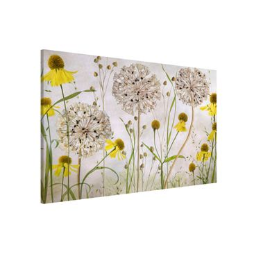 Product picture Magnetic Board - Allium And Helenium...