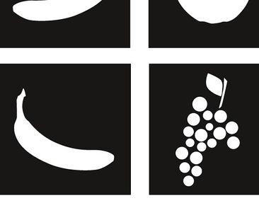Product picture Tile Sticker No.JO81 fruit basket Set II