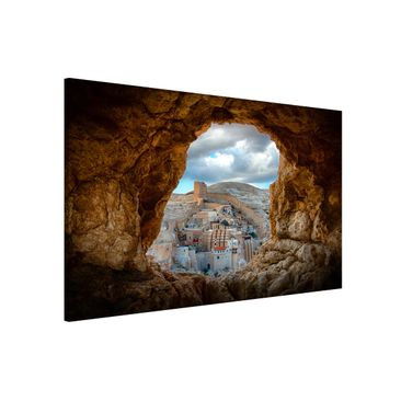 Product picture Magnetic Board - View Of A Monastery -...