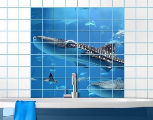 Produktfoto Fliesenbild Fish In The Sea