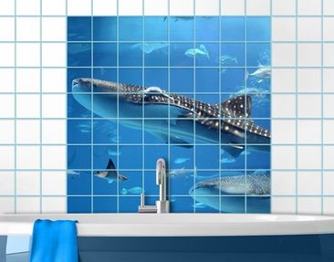 Produktfoto Tile Mural Fish In The Sea