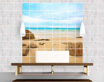 Produktfoto Tile Mural The Beach