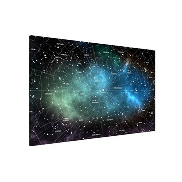 Product picture Magnetic Board - Constellations Map...