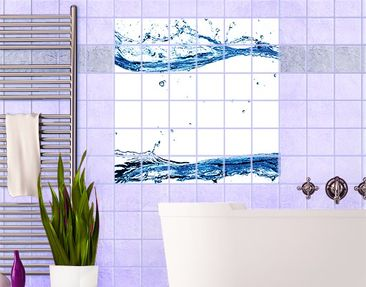 Produktfoto Tile Mural Water Worlds