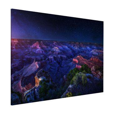 Produktfoto Magnettafel - Grand Canyon Night - Memoboard Querformat 3:4
