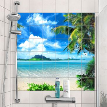 Produktfoto Tile Mural Dream vacation