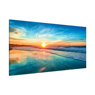 Product picture Magnetic Board - Romantic Sunset By The...