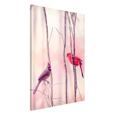 Immagine del prodotto Lavagna magnetica - Birds On Branches - Formato verticale 2:3