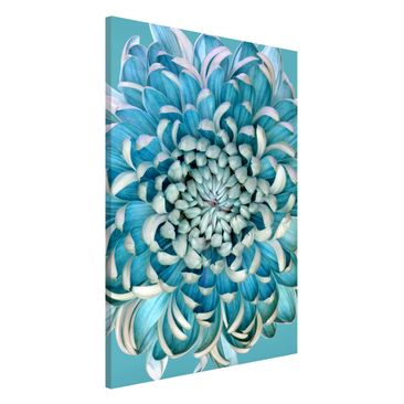 Product picture Magnetic Board - Blue Chrysanthemum -...