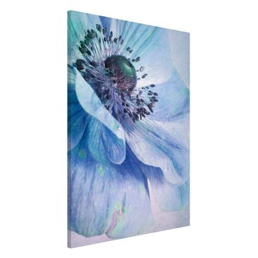 Product picture Magnetic Board - Blossom In Turquoise -...