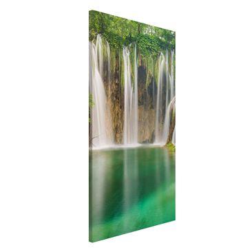 Produktfoto Magnettafel - Wasserfall Plitvicer Seen...