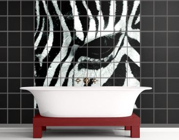 Product picture Tile Mural Zebra Crossing