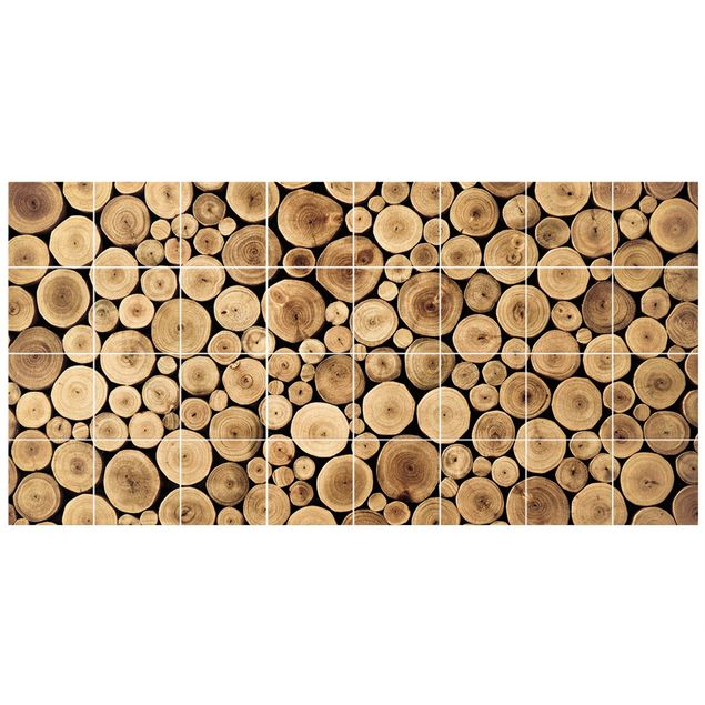 Produktfoto Fliesenbild Homey Firewood