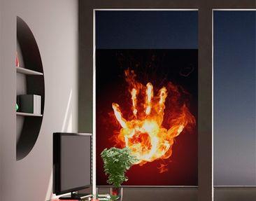 Produktfoto Window Mural Flaming Identity