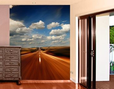 Produktfoto Photo Wall Mural Outback Race