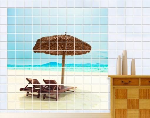 Produktfoto Fliesenbild Beach Of Dreams