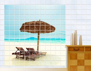 Produktfoto Tile Mural Beach of Dreams