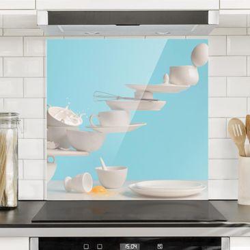 Immagine del prodotto Paraschizzi in vetro - Plate Art - Quadrato 1:1
