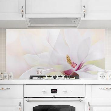 Immagine del prodotto Paraschizzi in vetro - Delicate Magnolia...