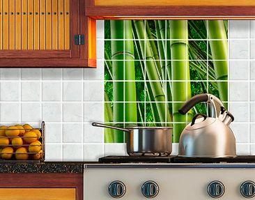 Produktfoto Tile Mural Bamboo Trees No.2
