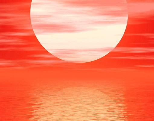 Produktfoto Fliesenbild Red Sunset