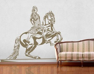 Product picture Wall Decal no.CG157 The Goldene Reiter...
