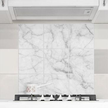 Immagine del prodotto Adesivo per piastrelle - Bianco Carrara - Quadrato
