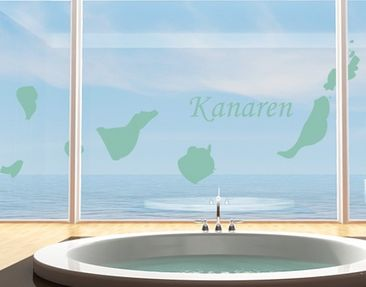 Product picture Window Sticker no.490 Kanaren