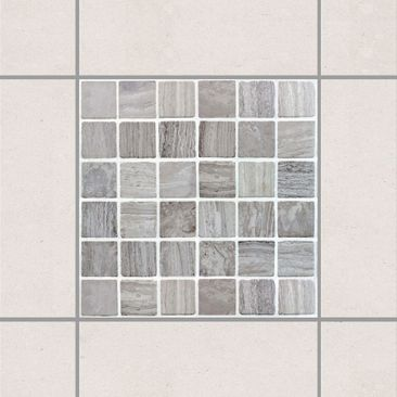 Product picture Tile Sticker - Mosaic Tiles Marble Look...