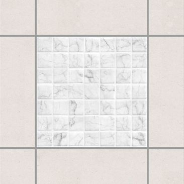 Product picture Tile Sticker - Mosaic Tile Marble Look...
