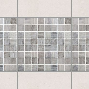 Product picture Tile Border - Mosaic Tiles Marble Look...