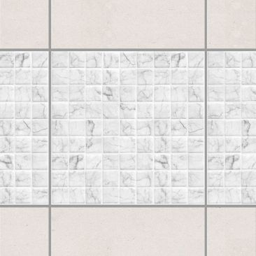 Product picture Tile Border - Mosaic Tile Marble Look...