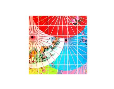 Product picture Tile Mural Chinese Parasols