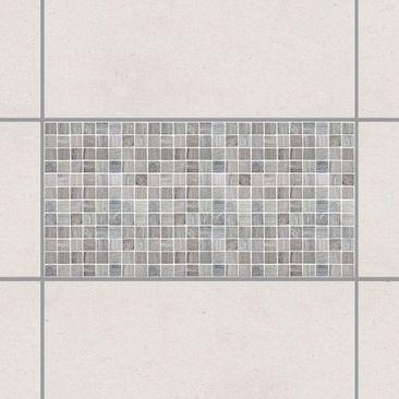Produktfoto Fliesenaufkleber - Mosaikfliesen Marmoroptik 60x30 - Fliesensticker Set