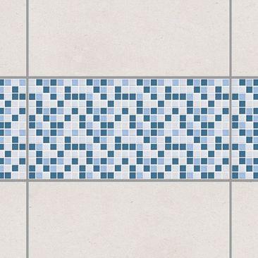 Immagine del prodotto Adesivo per piastrelle - Mosaic Tiles Blue Gray 60x30 cm