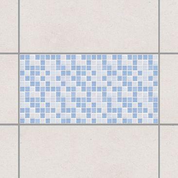 Immagine del prodotto Adesivo per piastrelle - Mosaic Tiles Light Blue 60x30 cm