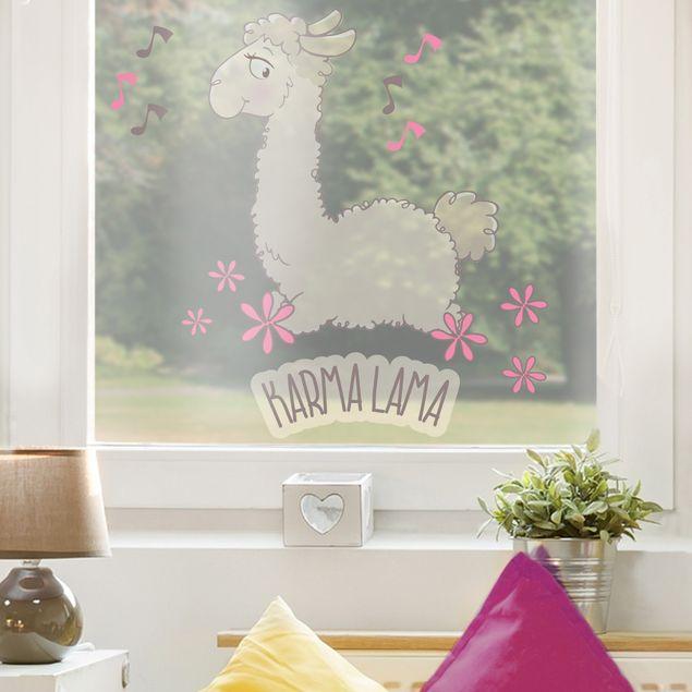 Produktfoto Fensterfolie - Fenstersticker NICI Karma Lama